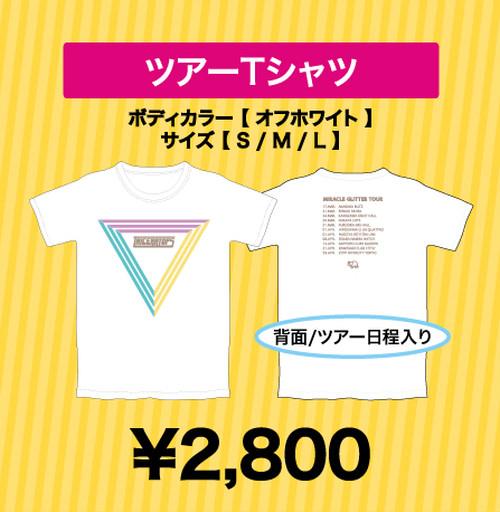 ツアーTシャツ【MIRACLE GLITTER TOUR】※Sサイズのみ