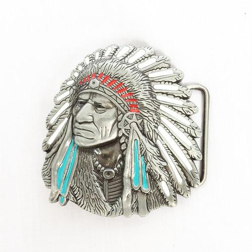 インディアン ネイティブ バックル ベルト 単品 1281