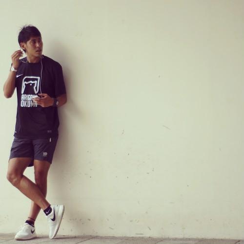 ARIGATO OKUMA Tシャツ ブラック