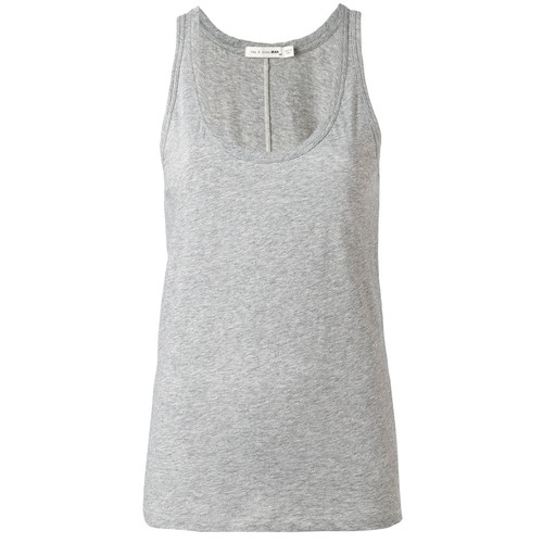 rag&bone    S7-W272C33CH/THE VEE    HEATHERGREY