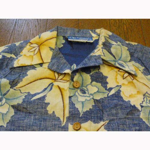 Ocean Pacific sunwear の古着 アロハシャツ (S)  ★【クリックポスト利用で送料無料】