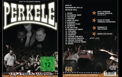 PERKELE - Sound of the streets DVD