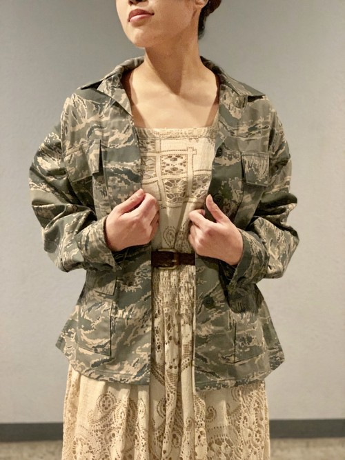 00's〜 USAFデジタルタイガーカモジャケットmade in USA