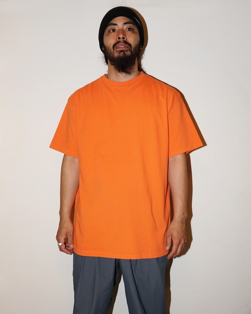 PLAIN - C.N. T-SHIRT S/S / ORANGE