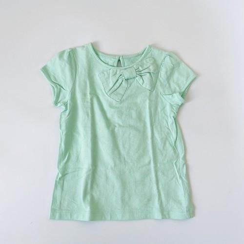 【リサイヒ】ケイトスペード ミントTシャツ 120㎝