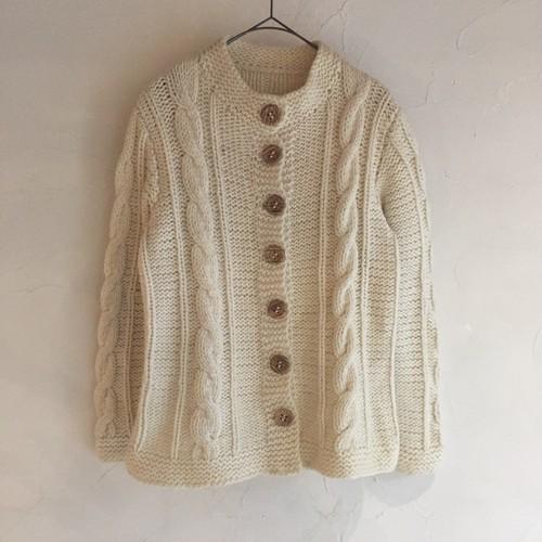 alan knit  cardigan