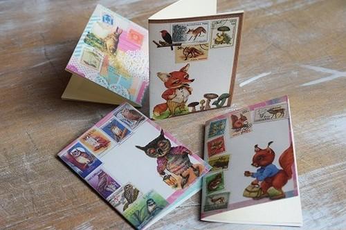 「まるで絵本みたいなカード」4種セット