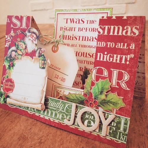 クリスマス立体カード