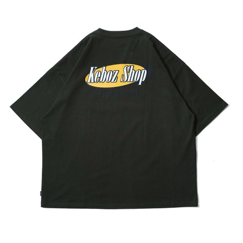 FM S/S TEE 【FOREST GREEN】