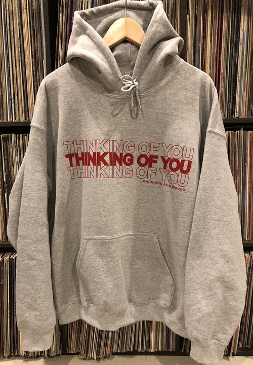 THINKING OF YOU hoodie GRY