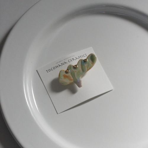 tocohana ceramics ブローチ