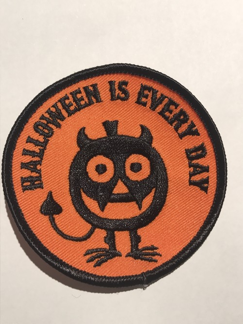 "GOBLINKO""HALLOWEEN IS EVERY DAY PATCH"""
