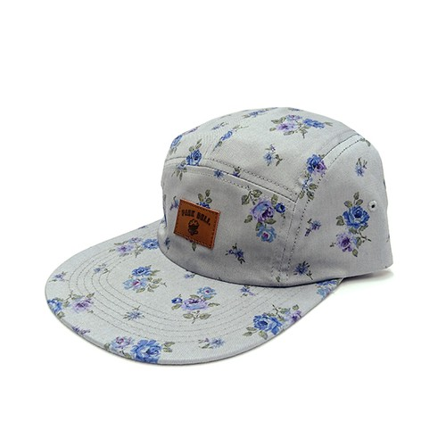 PARK DELI - 5 PANEL LONG BILL (Floral)