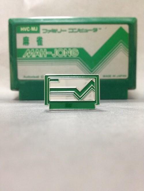 カセットピンバッジ ディープグリーン+ボックスセット