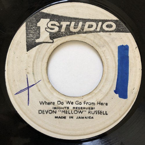 "Devon ""Mellow"" Russell - Where Do We Go From Here【7-20561】"