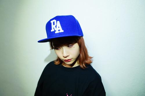 "Rakugaki 2020 ""RA"" Logo Snap Back Cap Blue Free Size"