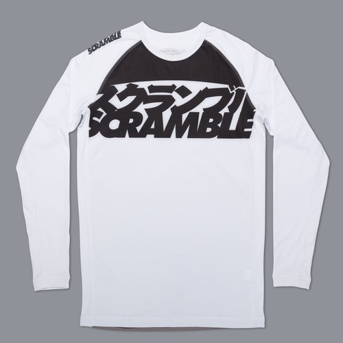 SCRAMBLE RANKED RASHGUARD V3  ホワイト