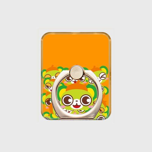 大崎一番太郎スマホリング(いっぱい橙)