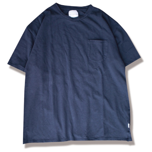 edit clothing Kanoko pocket tee(カノコポケットTシャツ/ネイビー)