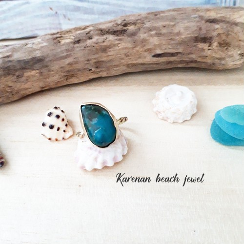 beach ring -chrysocolla-