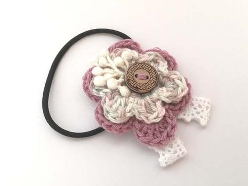お花ヘアゴム GY-1766