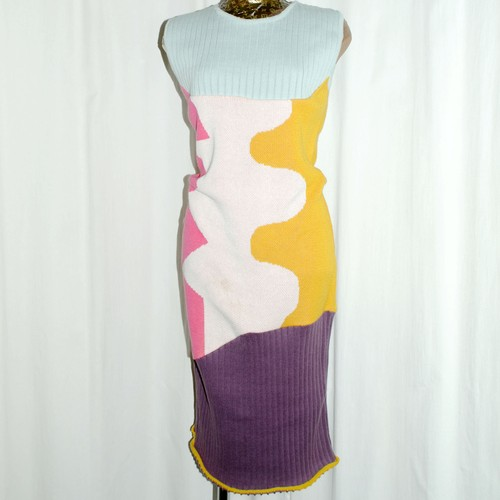『Raquel Hladky』ecologic cotton knitted Dress