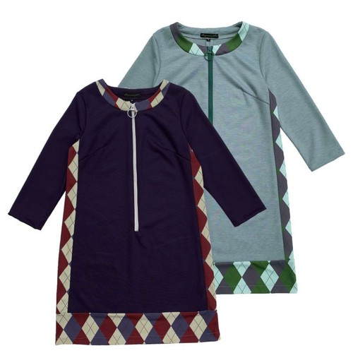 【2月入荷予定】Original John | ARGYLE KNIT DRESS [OP402]