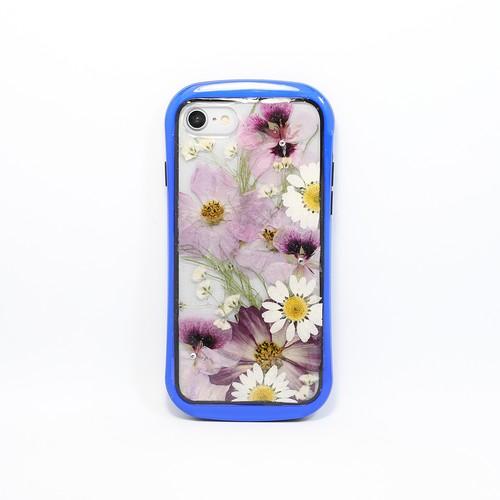 【7,8,SE2対応】押し花 iPhone case