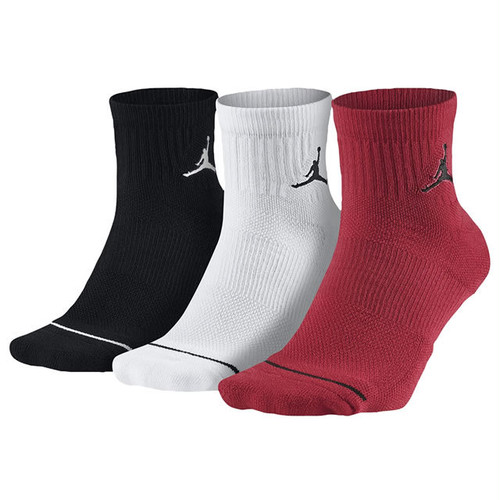 NIKE JORDAN Dri-FIT Quartre Sock 3 Pack 3足組 ソックス