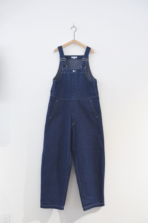 RE STOCK【ORDINARY FITS】OF-O012OW DUKE OVERALL DENIM one wash