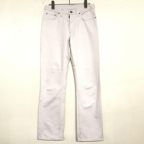 SS2001 HELMUT LANG 5 POCKET PANTS