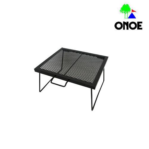 尾上製作所 (ONOE) マルチスタンド S-ブラック ローテーブル 調理台 料理台 アウトドア 用品 キャンプ グッズ レジャー 炭 木炭 焚火 MS-4045