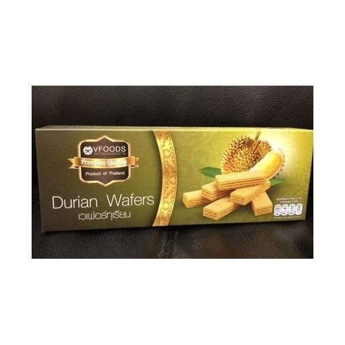 VFOODS ドリアン ウエハース/Durian Wafers 120g×3個