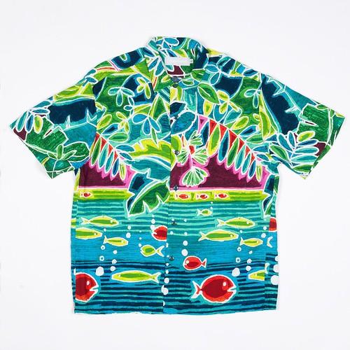 Jams World Retro Shirt Arvia【ジャムズ ワールド】アルビア アロハシャツ
