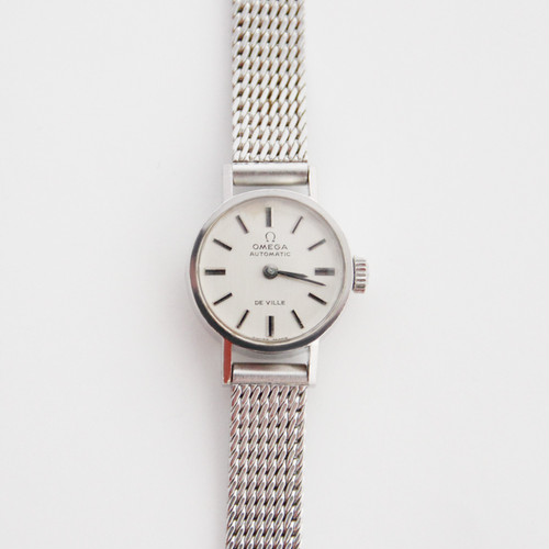 1970's OMEGA DE VILLE AUTOMATIC VINTAGE WATCH /  オメガ デビル 自動巻き ヴィンテージ 腕時計