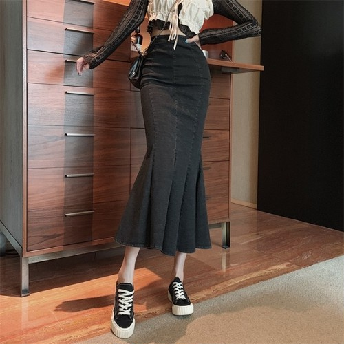 lady マーメイドスリットスカート c1852