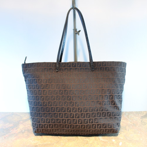 .FENDI ZUCCA PATTERNED TOTE BAG MADE IN ITALY/フェンディズッカ柄トートバッグ 2000000036144