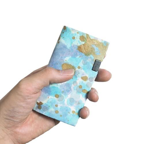 印象派 -カードケース-  ブルー