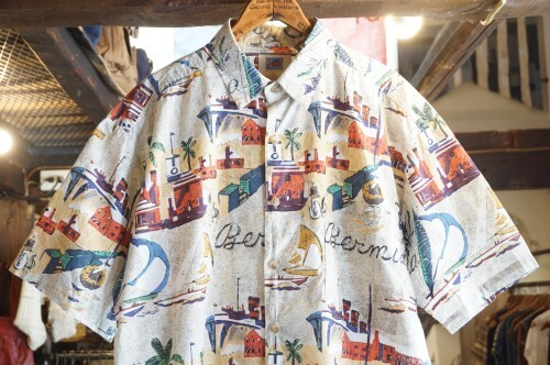 "90's Avi COLLECTION by KAHALA cotton s/s Shirt ""Bermuda"""