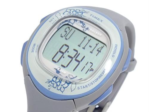 タイメックス TIMEX ヘルストレッカー 腕時計 T5K485 グレー 液晶