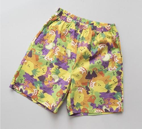 【cote a cote】Cote friend tropical pants (human)