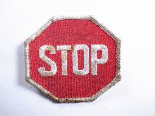 "OLD PATCH""STOP"""