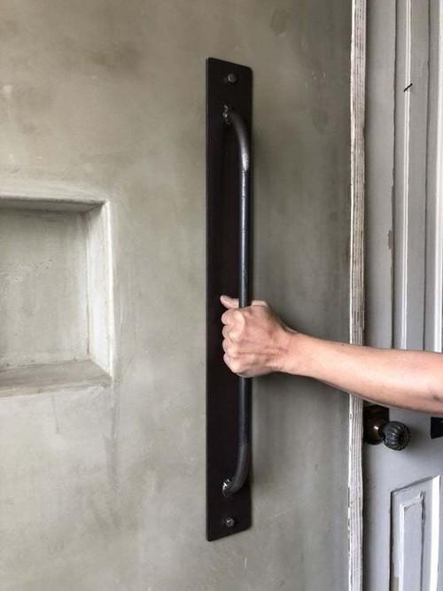 サイズオーダー可能 IDH-FREE 自由設計 ドアノブ ドア 取手 ハンドル アイアン インダストリアル アイアン家具