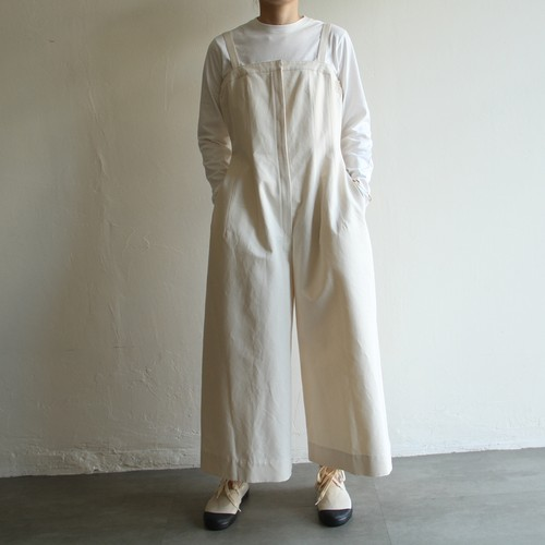 TENN HANDCRAFTED MODERN 【 womens 】trapeze line all-in-one