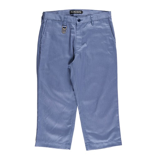 【送料無料】ROLLING CRADLE(ロリクレ) | WIDE CROPPED PANTS / Ash Gray