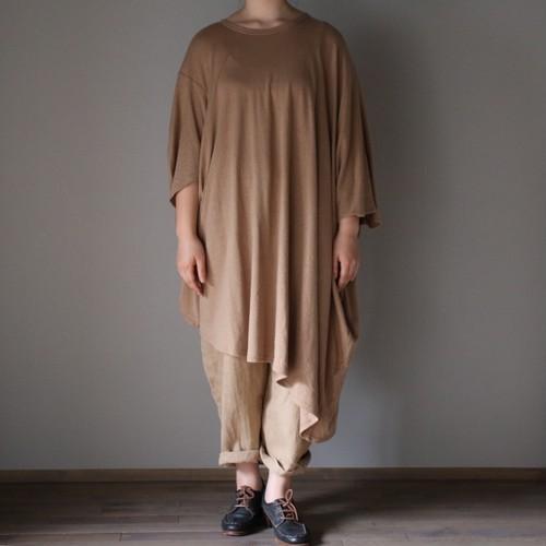 ROGGYKEI/ロギーケイ FUNI T SHIRT/フニTシャツ  CAMEL、size S #RK20S-CS04