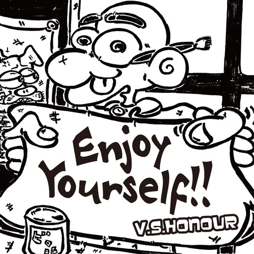 V.S. HONOUR / ENJOY YOURSELF(STUDIOORANGE缶バッジ付)