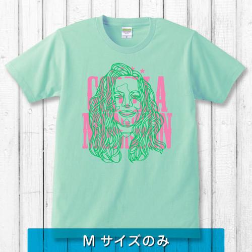 【20%OFF】Hidden Skull Tシャツ/ライトグリーン