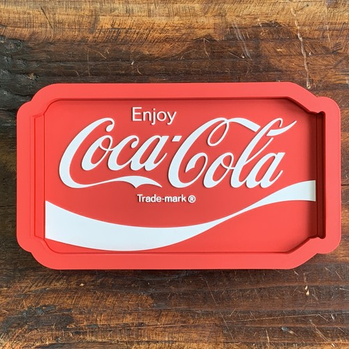 コカ・コーラ・ラバートレイ・アクセサリー入れ・小物入れ・クリップホルダー - CAN