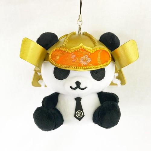 カッコイイ × カワイイ = 戦国パンダ部長(金)。マスコットキャラクターとのコラボ商品を実現!♪( ´▽`)